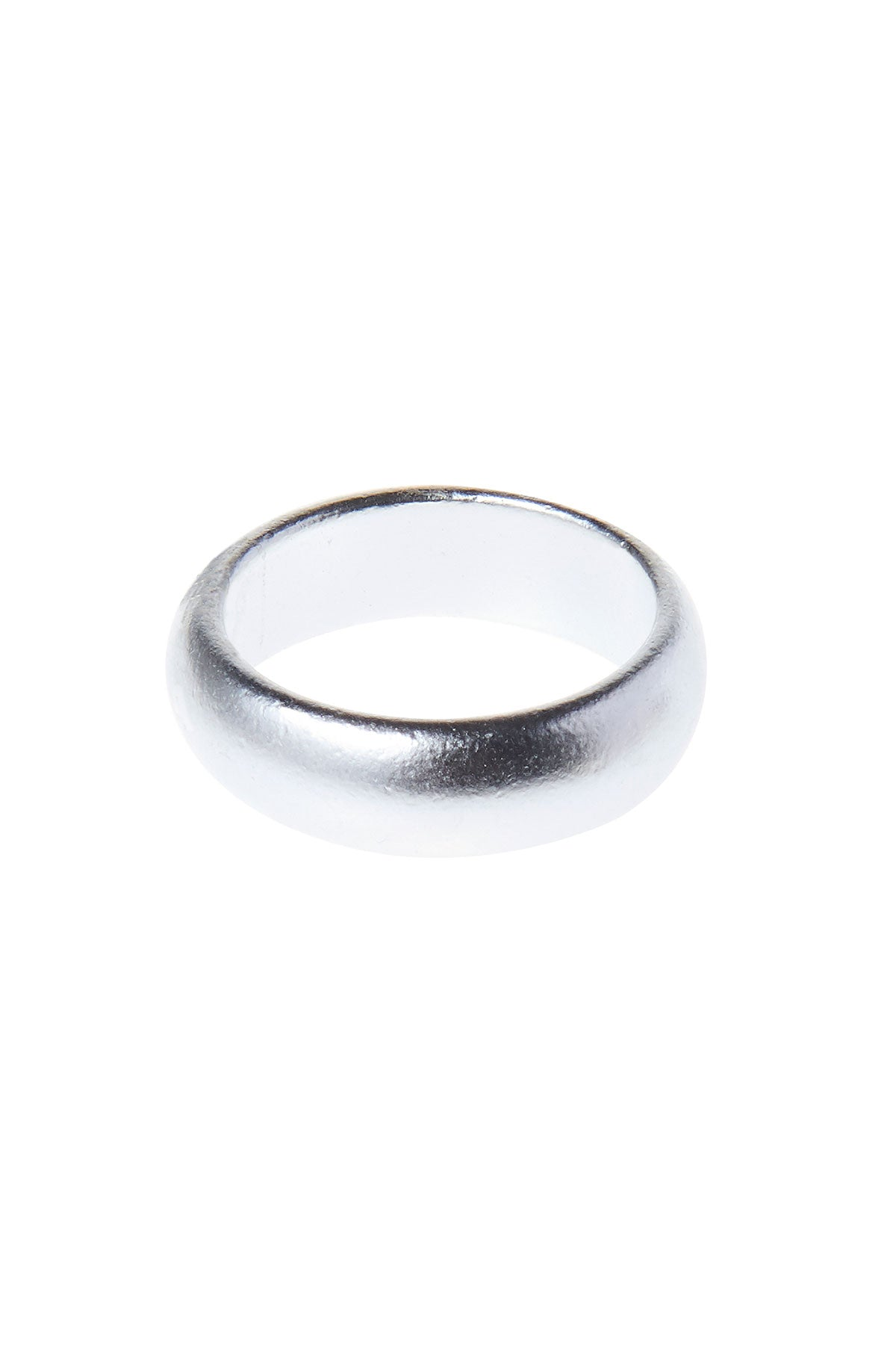 Matte Bold Ring-Silver