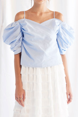 Selly Balloon Sleeves Top