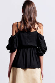 Sofia Cold Shoulder Blouse