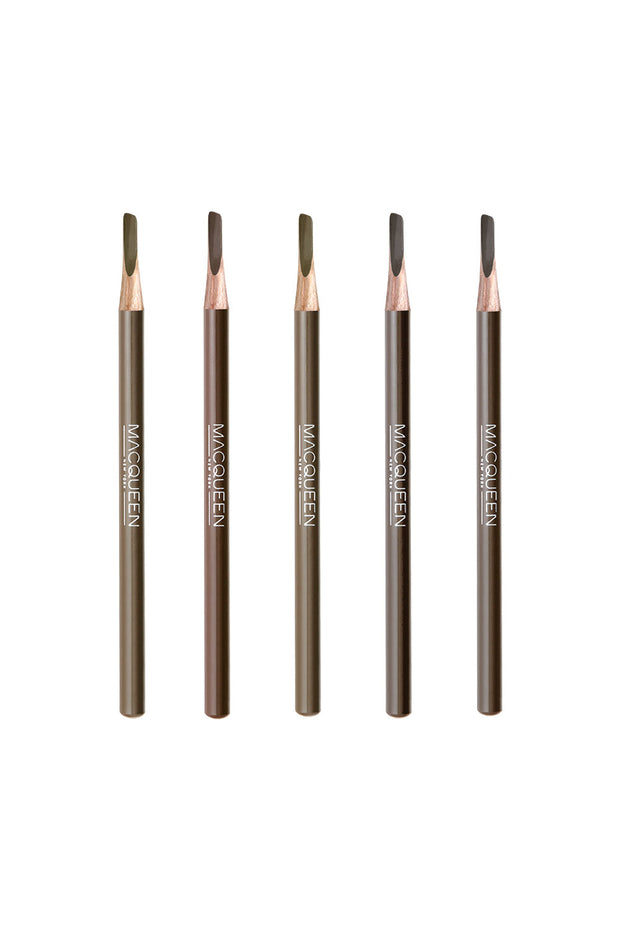 MACQUEEN Newyork My Strong Eye Brow Pencil-Hard Powder