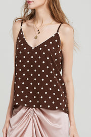 Rhea Dotted Camisole
