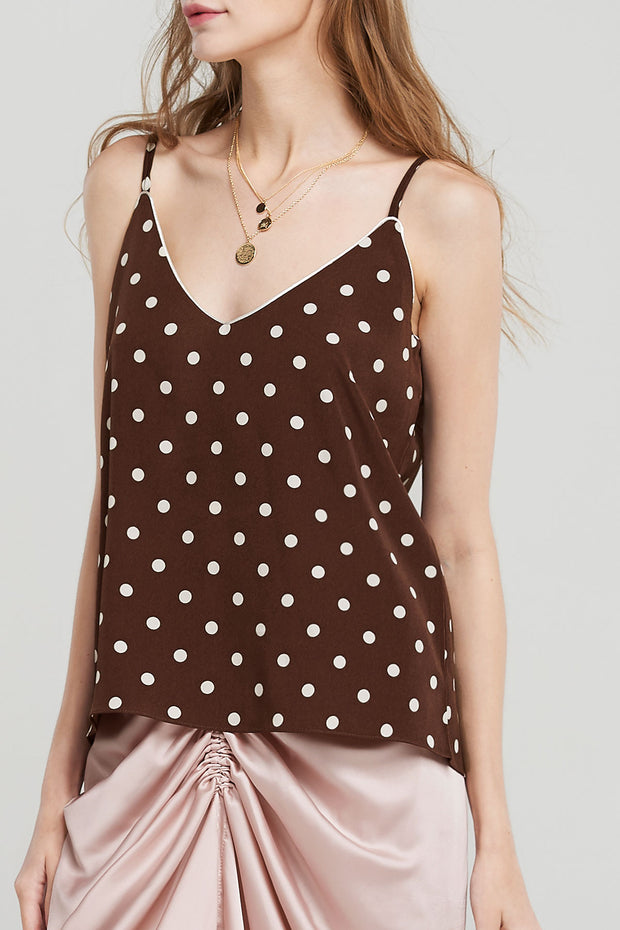 storets.com Rhea Dotted Camisole