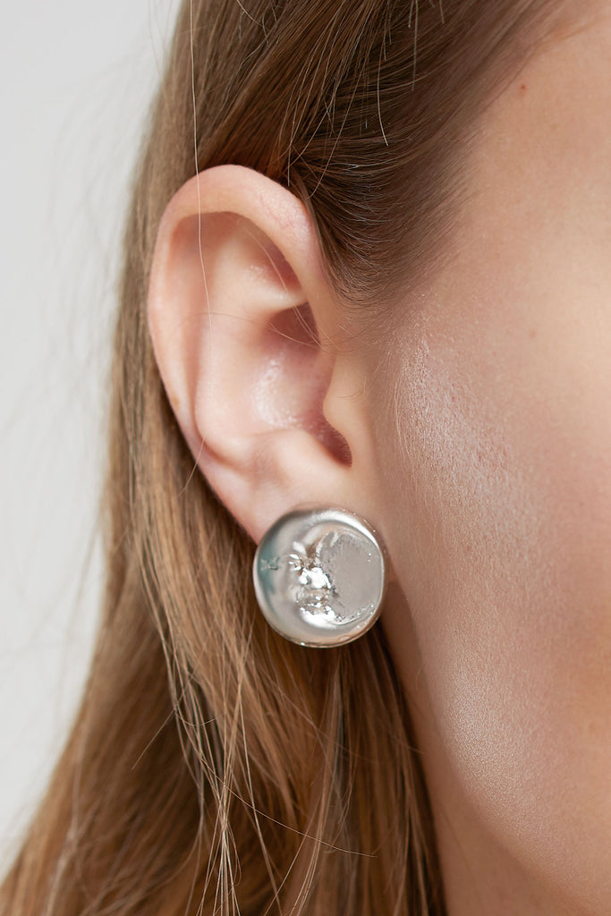 Moon And Sun Earrings-Gold/Silver