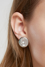 storets.com Moon And Sun Earrings-Gold/Silver