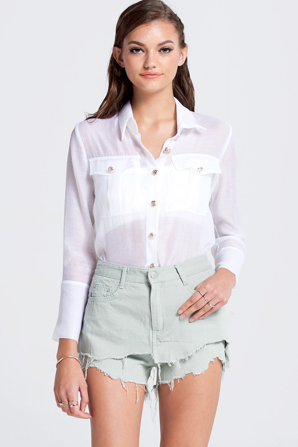 Kina Layered Shorts