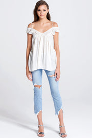 Lilly Cold Shoulder Top