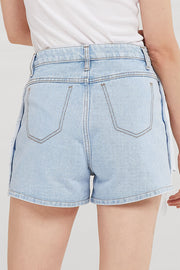 Keira Inside Out Denim Shorts