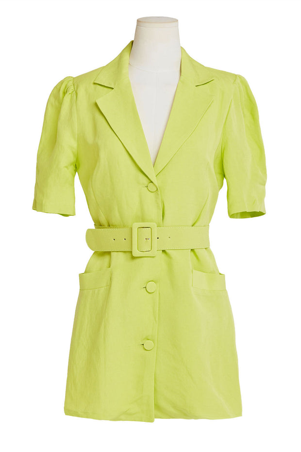 Vanessa Belted Blazer Dress