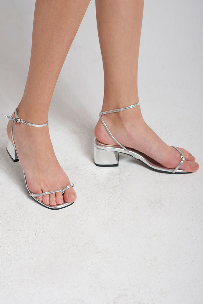 Thin Strappy Sandals-Silver – storets.com 1fed61a3a