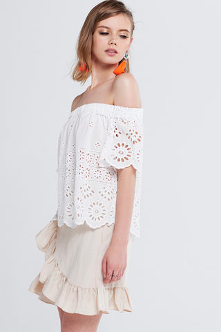 Lina Off-the-Shoulder Top