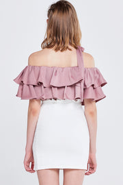 Olivi Silky Off-the-Shoulder Top