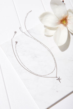 Starfish Layered Necklace