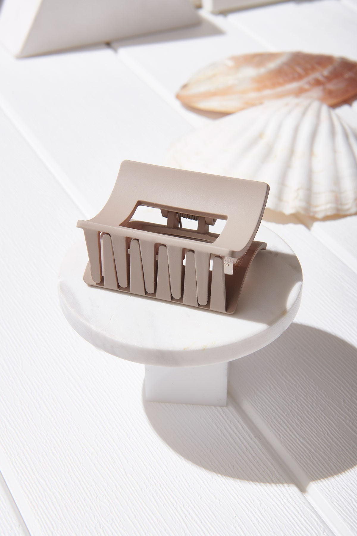 Square Hole Hairclip