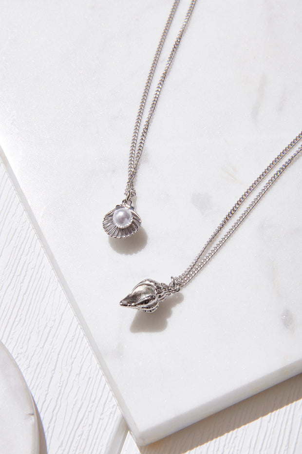 Shellfish Layered Necklace