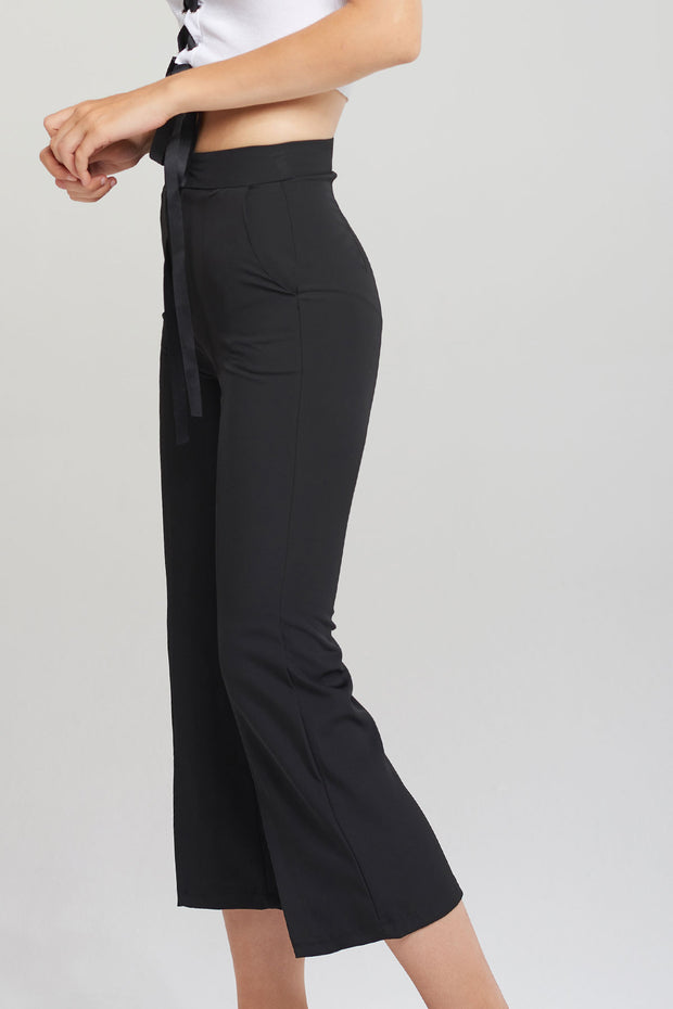 Sallie Front Slit Pants