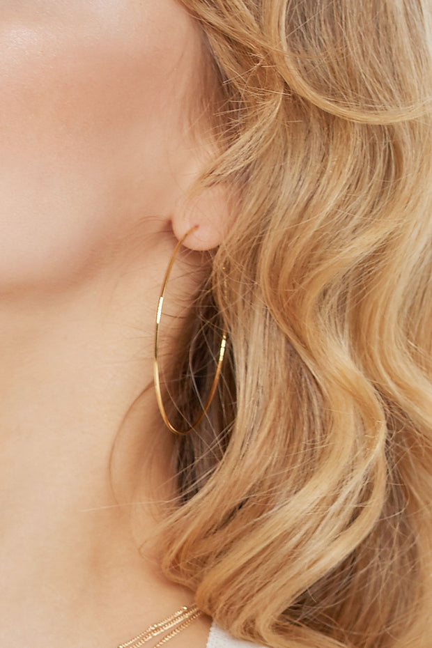 storets.com Thin Ring Earrings-2 Colors