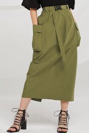 Wren Seatbelt Detail Cargo Skirt