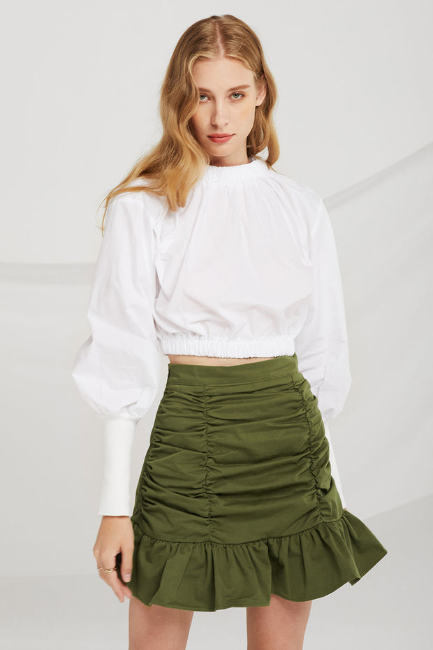 Kylie Crop Banding Top