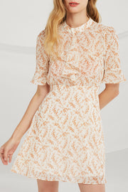 storets.com Leah Sheer Floral Dress