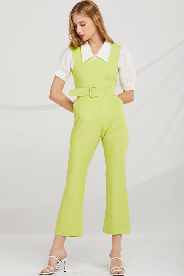 storets.com Avery Sleeveless Square Neck Jumpsuit