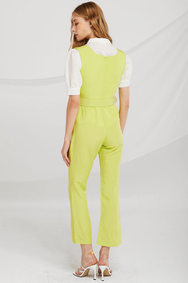 Avery Sleeveless Square Neck Jumpsuit