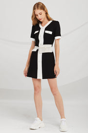 Camila Contrast Trim Dress
