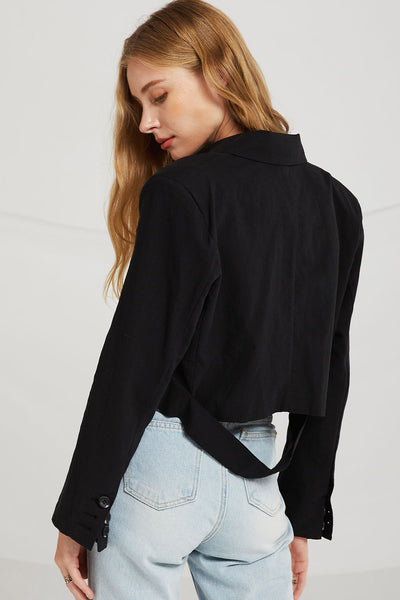 Madison Slash Cut Blazer