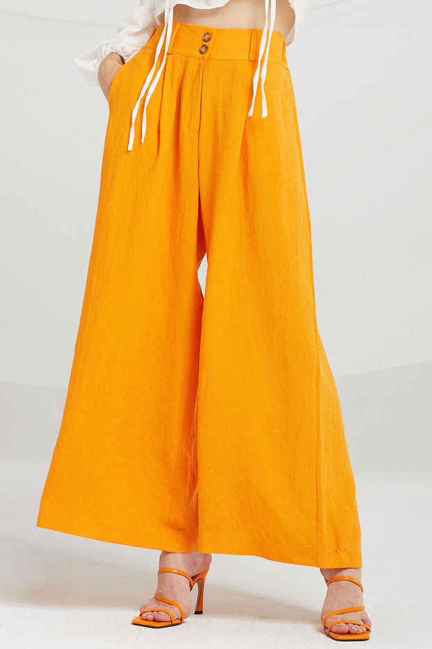 Brooklyn Flare-Leg Pants