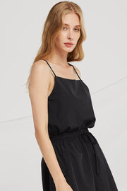 Saige Square Neck Sleeveless Top