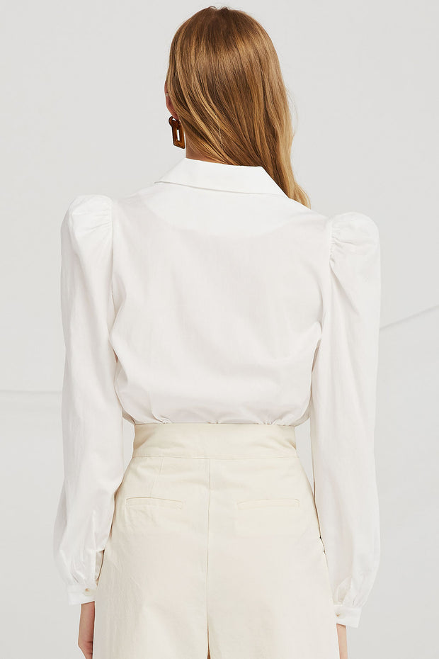 storets.com Tessa Puff Sleeve Crop Top
