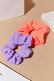 Pop Color Scrunchies