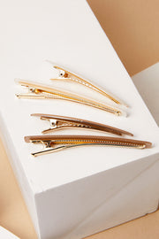 Geometry Acrylic Hair Pin Set