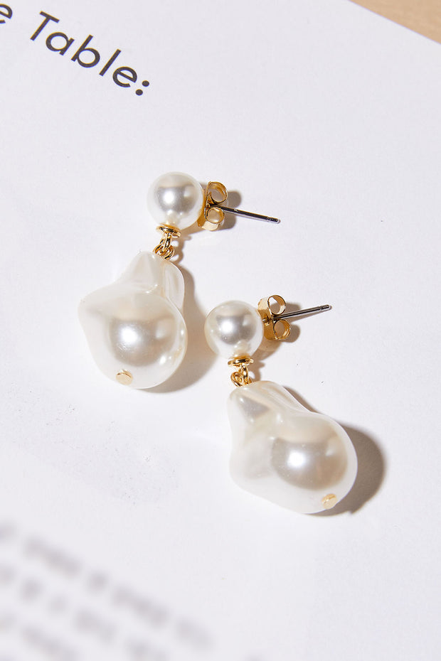 storets.com Natural Pearl Earrings