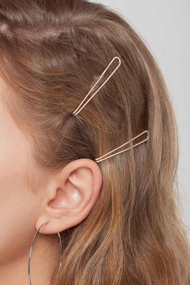 Thin Hair Pin 2 Set-2 Colors