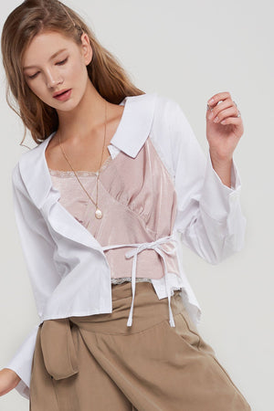 Leandra Layered Illusion Shirt