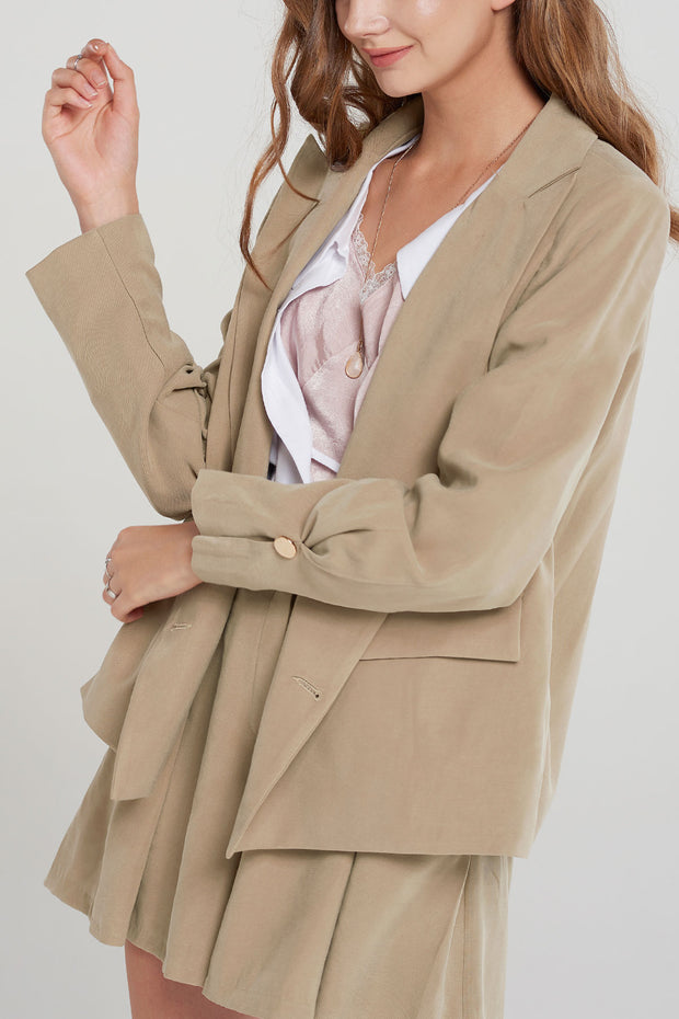 Annika Double Breasted Blazer-2 Colors