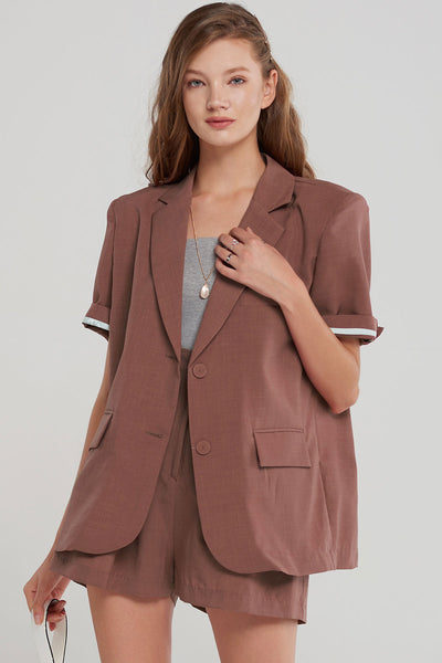 Milton Structured Blazer