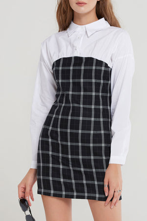 Kathy Shirt Layered Dress