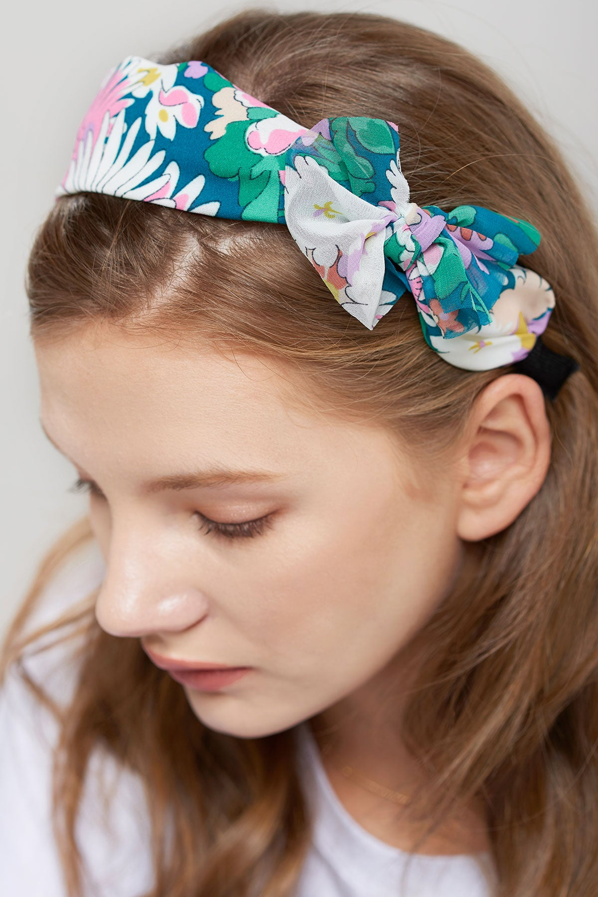Floral Wide Hairband