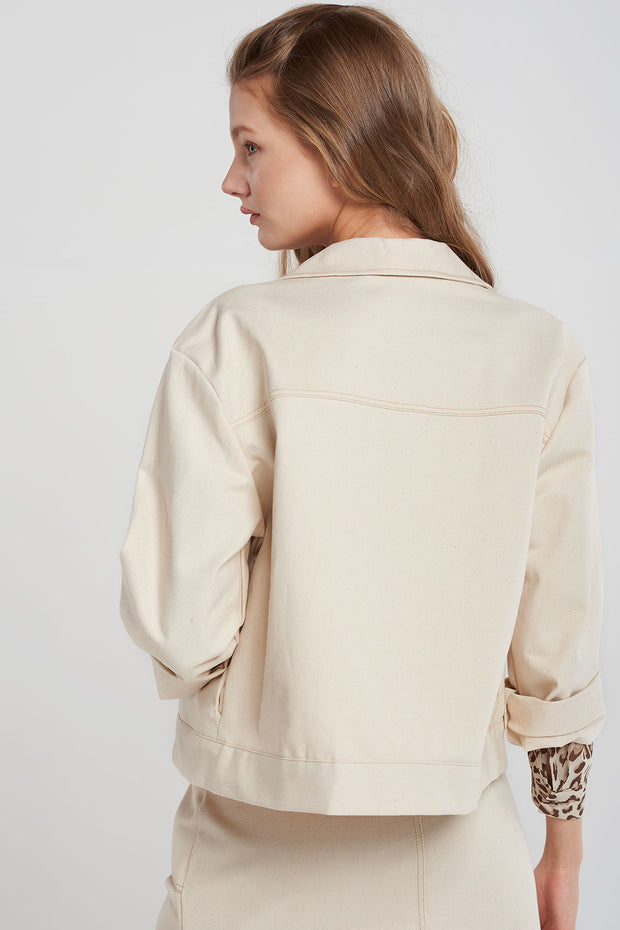 Morgan Stitched Jacket-2 Colors