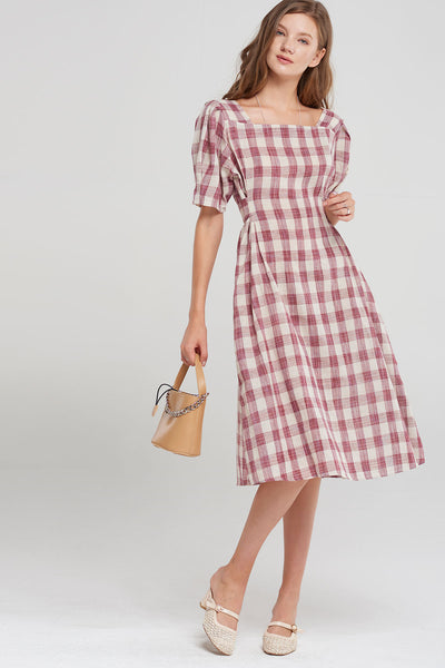 Eileen Square Neck Dress