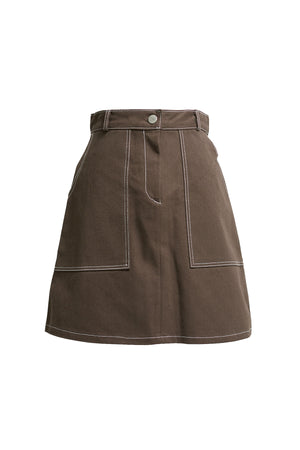 Morgan Stitched Skirt-2 Colors