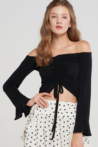Amelia Ruched Top