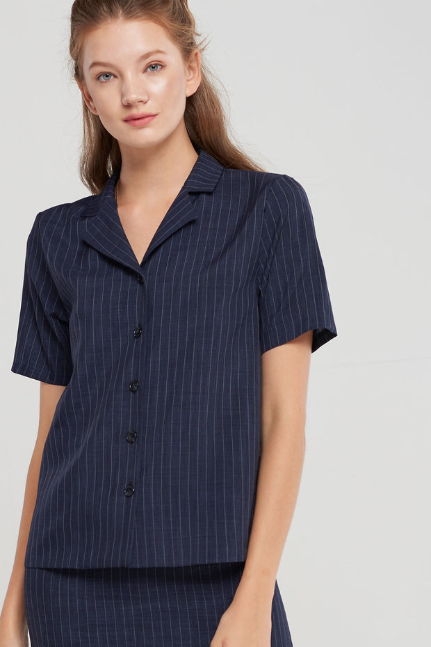Trina Pin Stripe Shirt