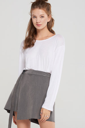 Delaney Diagonal Skort