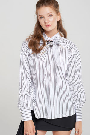 Kendra Bowtie Blouse-2 Colors
