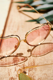 Heart Eye Sunglasses-2 Colors