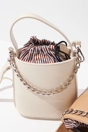Chained Bucket Bag-2 Colors