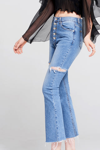 Carry Button Jeans