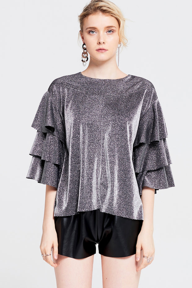 storets.com Amelia Tiered Sleeve Top
